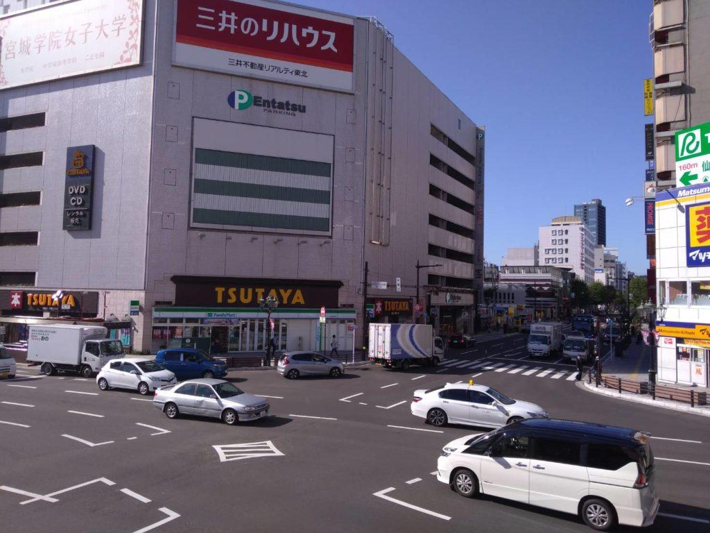 シシオチドウ 仙台 駐 車場